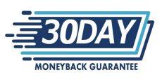 30 dias de garantia de devolução do dinheiro