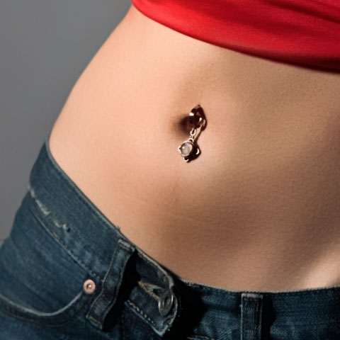 Body piercing guide